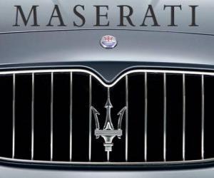 Rompicapo di Logo della Maserati, auto sportive del marchio italiano