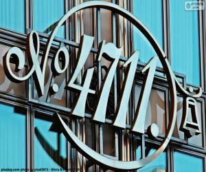 Rompicapo di Logo di 4711