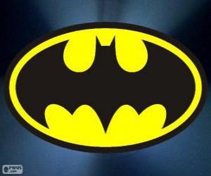 Rompicapo di Logo di Batman, il pipistrello