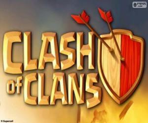 Rompicapo di Logo di Clash of Clans