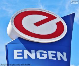 Rompicapo di Logo di Engen Petroleum