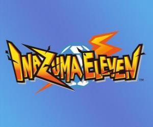 Rompicapo di Logo di Inazuma Eleven. Nintendo videogiochi anime e manga