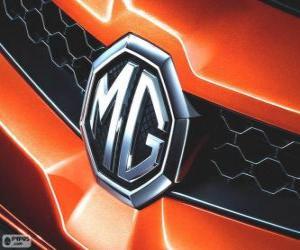 Rompicapo di Logo di MG, marchio del Regno Unito