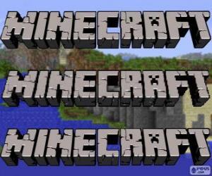 Rompicapo di Logo di Minecraft