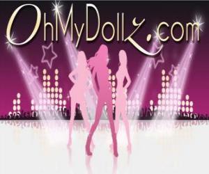 Rompicapo di Logo di Oh My Dollz
