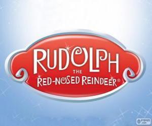 Rompicapo di Logo di Rudolph la renna dal naso rosso