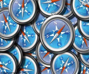 Rompicapo di Logo di Safari