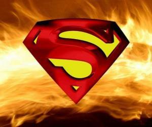 Rompicapo di Logo di Superman