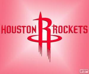 Rompicapo di Logo Houston Rockets, squadra NBA. Southwest Division, Western Conference
