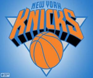 Rompicapo di Logo New York Knicks, squadra NBA. Atlantic Division, Eastern Conference
