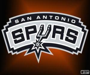 Rompicapo di Logo San Antonio Spurs, squadra NBA. Southwest Division, Western Conference
