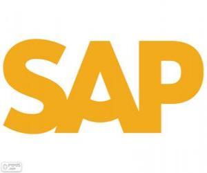 Rompicapo di Logo SAP