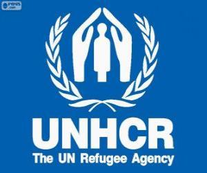 Rompicapo di Logo UNHCR, Commissariato delle Nazioni Unite per i Rifugiati