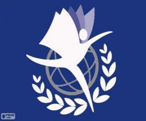 Rompicapo di Logo UNITAR, Istituto delle Nazioni Unite per la Formazione e la Ricerca