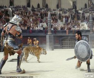 Rompicapo di Lotta tra gladiatori