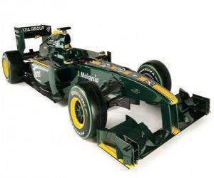 Rompicapo di Lotus T127
