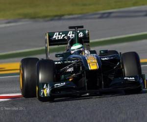 Rompicapo di Lotus T128 - 2011 -