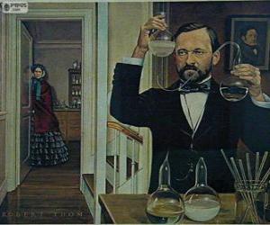 Rompicapo di Louis Pasteur (1822-1895) è stato un chimico francese