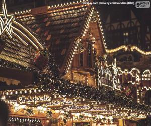 Rompicapo di Luci del mercatino di Natale