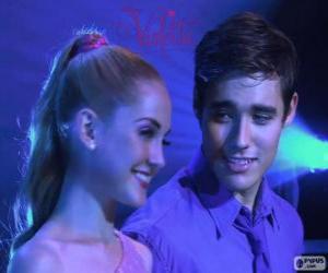 Rompicapo di Ludmila e Leon cantando
