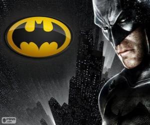 Rompicapo di L'uomo pipistrello, il supereroe Batman