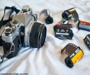 Rompicapo di Macchina fotografica reflex