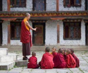 Rompicapo di Maestro buddista