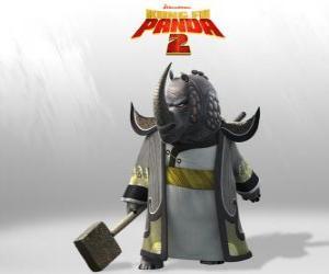 Rompicapo di Maestro Rino Tuonante è il più venerato di tutti i maestri di Kung Fu del Consiglio