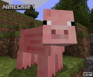Rompicapo di Maiale di Minecraft