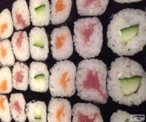 Rompicapo di Makis, variante di sushi