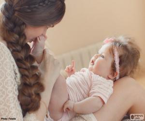 Rompicapo di Mamma e il suo bambino