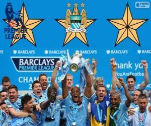 Rompicapo di Manchester City, campione Premier League 2013-2014, Inghilterra Football League