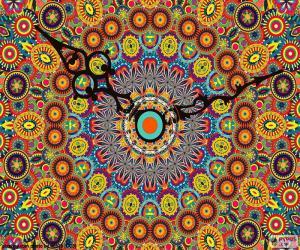 Rompicapo di Mandala, orologio