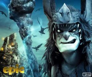 Rompicapo di Mandrake, il leader degli Boggans