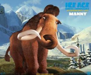 Rompicapo di Manfred, Manny, il mammut