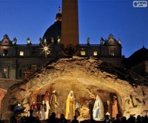 Rompicapo di Mangiatoia di plaza de San Pedro in Roma