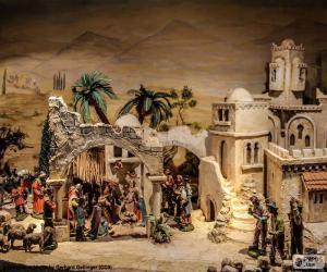 Rompicapo di Mangiatoia nascita di Gesù