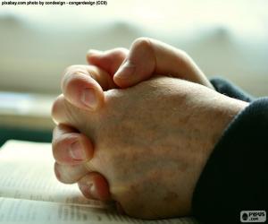 Rompicapo di Mani di preghiera