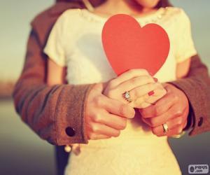 Rompicapo di Mani e cuore