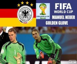 Rompicapo di Manuel Neuer, guanto d'oro. Mondiali di calcio Brasile 2014