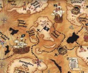 Rompicapo di Mappa del tesoro