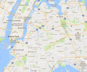 Rompicapo di Mappa di New York