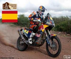 Rompicapo di Marc Coma, Dakar 2015