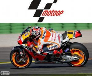 Rompicapo di Marc Márquez, campione del mondo di MotoGP, 2013