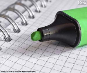 Rompicapo di Marcatori verde
