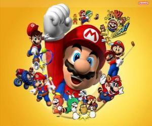 Rompicapo di Mario il famoso idraulico del mondo Nintendo. Mario Bros