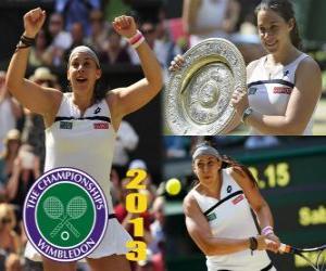 Rompicapo di Marion Bartoli campione Wimbledon 2013