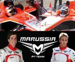 Rompicapo di Marrussia F1 Team 2013