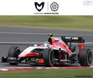 Rompicapo di Marussia Manor 2015