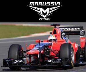 Rompicapo di Marussia MR01 - 2012 -